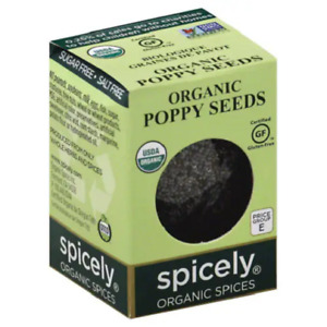 Spicely Organic Poppy Seeds