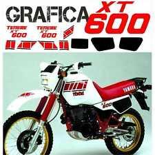 KIT AUTOCOLLANT DECAL AUTOCOLLANTS XT 600 Z TENIR 34L 1983 83 NOIR ROUGE GRAFICA