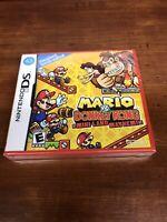 Mario VS Donkey Kong Mini Land Mayhem Nintendo DS BRAND NEW SEALED