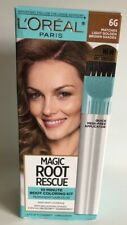 L'Oréal Magic Root Rescue 10 Minute Hair Coloring Kit 6G Light Golden Brown NEW