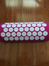 Bed of Nails Pink Original Acupressure Pillow for Neck/Body Pain Treatment  NEW