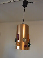 Tolle 70er 70´s Decken Lampe Ceiling Lamp Flower Power Time  #<