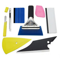 8PCS Car Vinyl Wrapping Tools Squeegee Applicator Kit For Window Tint Film