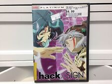 ** .hack//SIGN Ver. 06: Terminus - DVD - Used/acceptable Condition