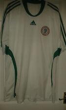 Mens Football Shirt - Nigeria - Africa - Away 2008-09 - Adidas - White 2XL RARE