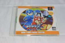 Rockman/Megaman 3 PS1 Japan Import North American Seller Game and Manual Only