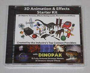 3D Animation Starter Kit - 3D models, textures & more - Maya/3D Studio/Lightwave