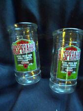 2 Stück - Desperados mit Tequila Bier - Teelicht-Windlicht-Flasche aus Glas /Neu