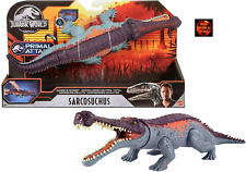 Jurassic World Massive Biters Sarcosuchus Dinosaur Toy Model 34cm Brand New