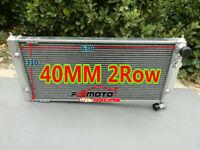 Alluminio Radiatore per VW Golf MK2 Corrado VR6 Turbo 16V G60 VWO2 MT 1983-1995