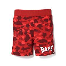 A Bathing Ape Bape Shark Head Loose Casual Camouflage Sports Shorts Pants Hot