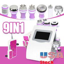 5689in 1 Ultrasonic Cavitation Machine Vacuum Rf Celluliteampfat Remover Machie