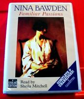 Nina Bawden Familiar Passions 6-Tape UNABRIDGED Audio Book Sheila Mitchell