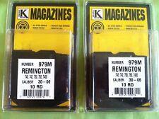 TWO REMINGTON 10 Round Magazines 740 7400 742 750 760 7600 30-06 270 Rifle Clip