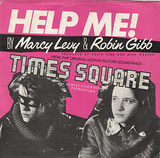 """MARCY LEVY & ROBIN GIBB - help me 45"""""""