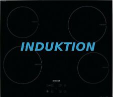 Induktion Kochfeld Beko HII64401AT autark Touch Control RAHMENLOS Glaskeramik