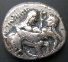 Armenian Art Gallery-THRACO-MACEDONIAN Stater,Silver Coin,2500 Years Old,X RARE
