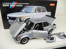 1:18 Kyosho BMW 2002 Turbo silber NEU NEW