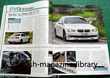 Evo Magazine Issue 176 - BMW E92 Aplina B3 GT3