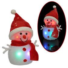G2111 Schneemann 24 cm LED Santa Weihnachtsdeko Fensterdekoration beleuchtet