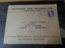 FRANCE 1951 timbre 883, MARIANNE GANDON seul sur LETTRE, oblitéré, VF cover