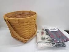 "Longaberger 9"" Measuring Basket Combo Choice Liner - New Retired"