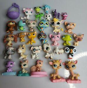 LPS Littlest Pet Shop 32 Piece Bobble Head Lot
