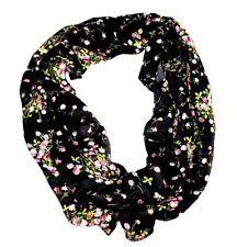 Écharpes et châles noir à motif Floral polyester pour femme