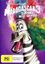 MADAGASCAR 3 Europe's Most Wanted New Dvd CHRIS ROCK ***