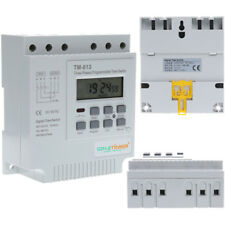 380V LCD Digital Multipurpose 3 Phases Programmable Plug-in Power Timer Switch