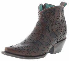 Corral Boots G1496 Brown Damen Lederstiefelette Westernstiefelette Braun