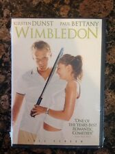 Wimbledon (DVD, 2004, Full Frame)NEW-AUTHENTIC US Release