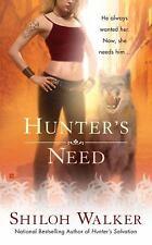 Hunter's Need 4 by Shiloh Walker (2009, Paperback)LikeNew