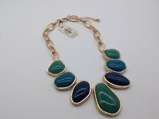 Talbots gorgeous green and blue necklace NWT