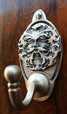 Green Man Key Hook / Coat Hook (EXCLUSIVE DESIGN) English Pewter Pagan