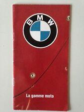 MINI CATALOGUE BMW LA GAMME MOTO 1994