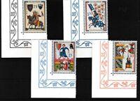 Liechtenstein 433-436 (kompl.Ausg.) postfrisch Eckrandsatz Luxus