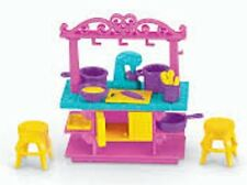 *NEW* Fisher Price Dora The Explorer Playtime Together Dollhouse Kitchen Island