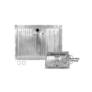 Cougar / Mustang Fuel / Gas Tank - Stainless / With Drain Plug / 16 Gallon