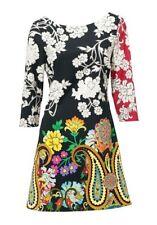 Kleid, Druckkleid, Desigual, Gr.42, 85% Polyester, 15% Elasthan, neu