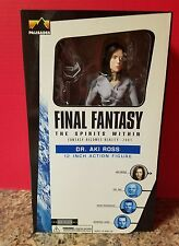 """Final Fantasy The Spirit Within 12"""" DR. AKI ROSS Action Figure 2001 Palisades"""