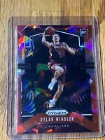2019-20 DYLAN WINDLER Prizm RC Red Cracked Ice #270 Cleveland Cavaliers 💎🔴💎