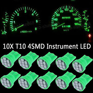 Green LED 194 Wedge Speedo Dash Gauge Instrument Panel Light Bulb For Oldsmobile