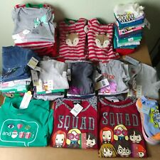 58 Pieces NWT Children's Clothing Lot Various Sizes 3, 6, 9, 12, 18Mo, 2-5T, XS