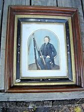 Antique Civil War Tinted Photo Union Soldier Richerson. (Richardson) 8902