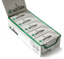 actiTube - activated CHARCOAL filters for rolling 9mm - 1 box = 250 filters