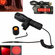 US WindFire Red Hunting Light Zoomable Cree LED Coyote Hog Fox Predator Lamp Kit