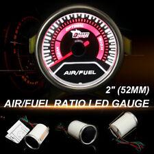 2'' 52MM Universal  Red LED Digital Car Auto Air Fuel Ratio Racing Gauge