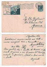 Cartolina postale Esposizione Internazionale della Navigazione Napoli 1954 Vg
