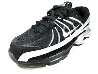 Nike Shox Turbo VII PS 325226 141 Boys Shoes Running Black White Leather Mesh